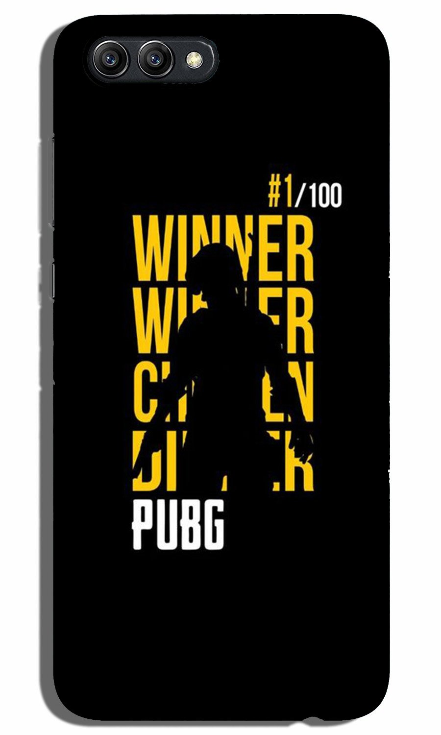 Pubg Winner Winner Case for Oppo K1  (Design - 177)