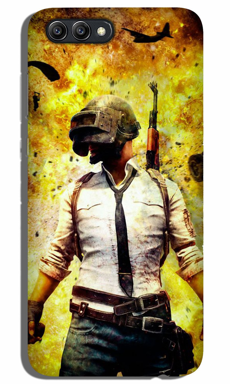 Pubg Case for Oppo A3s  (Design - 180)