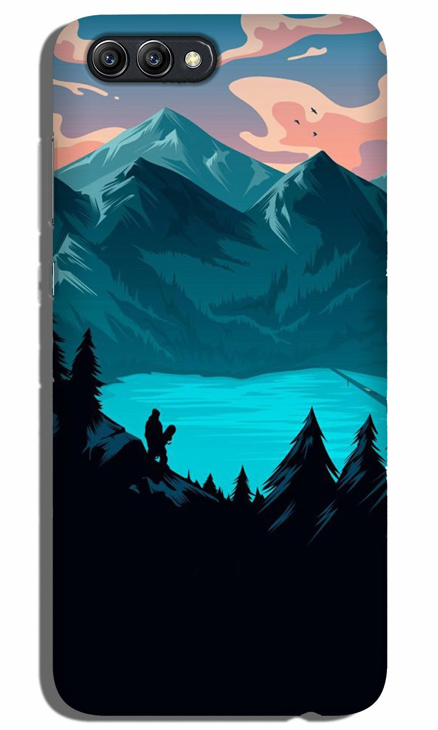Mountains Case for Oppo A3s (Design - 186)
