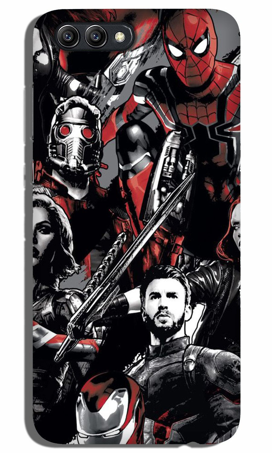 Avengers Case for Oppo A3s (Design - 190)