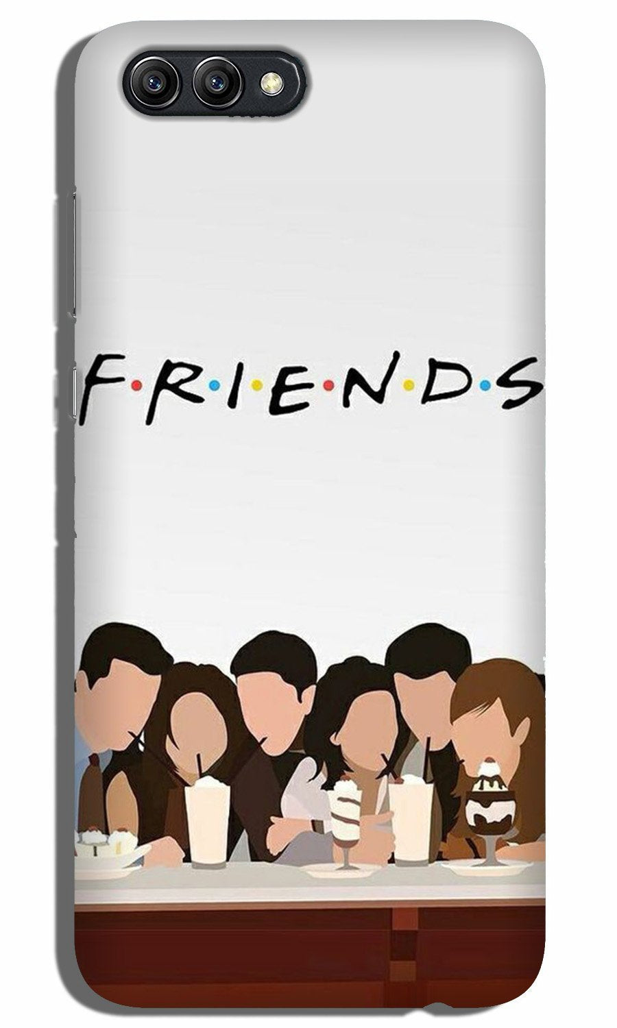 Friends Case for Oppo K1 (Design - 200)