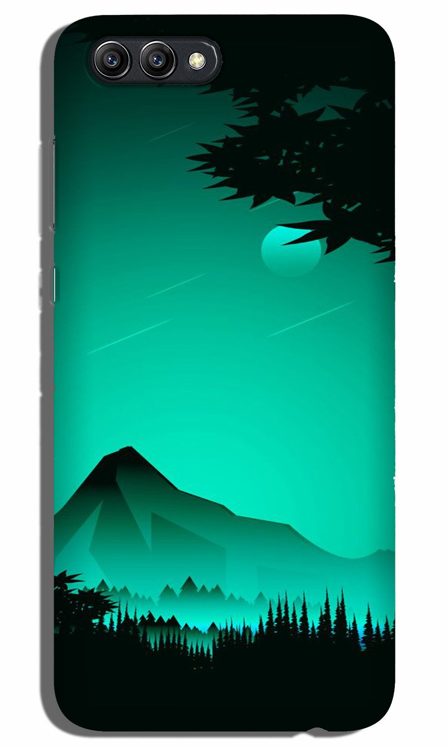 Moon Mountain Case for Oppo A3s (Design - 204)