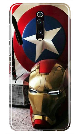 Ironman Captain America Case for Xiaomi Redmi K20/K20 pro (Design No. 254)