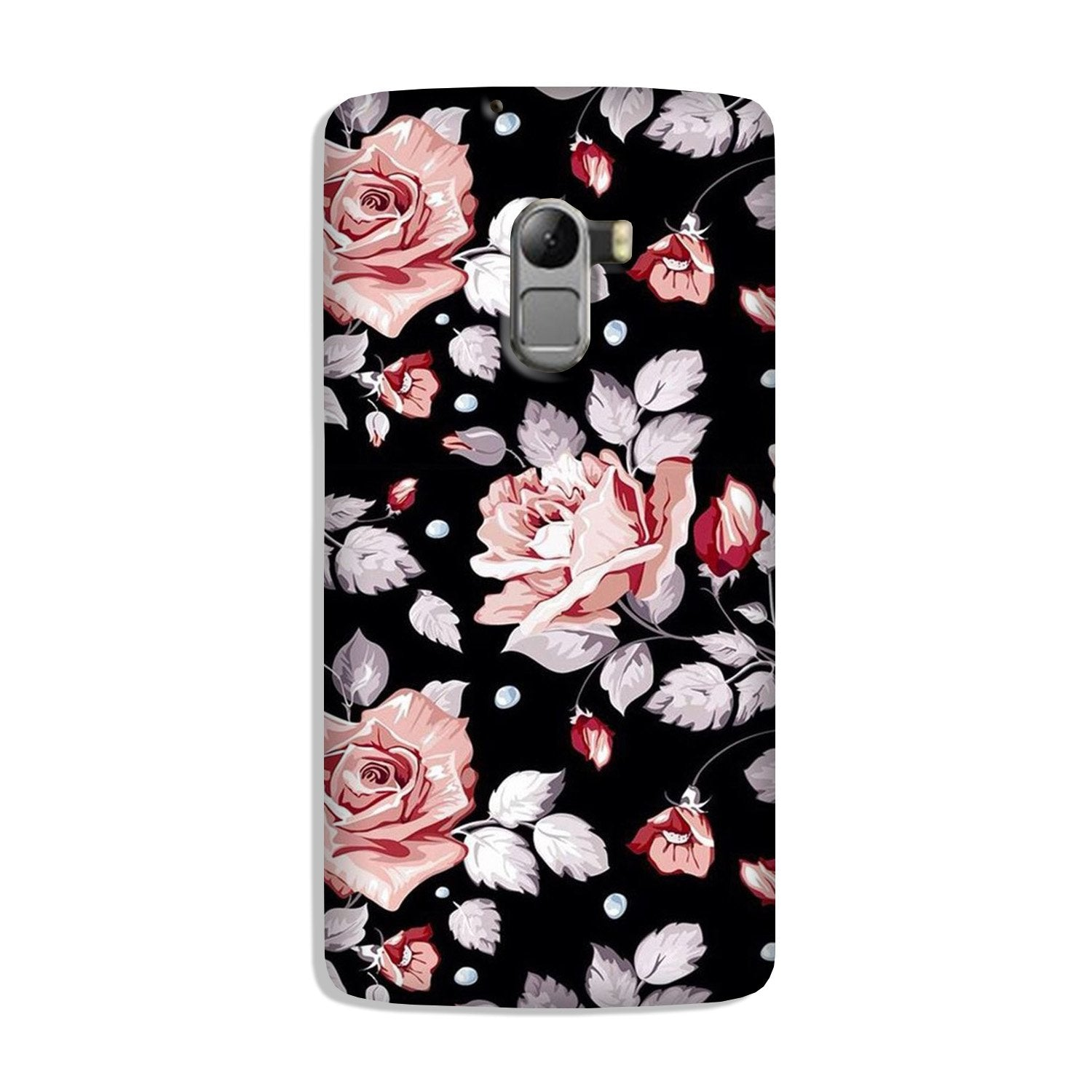 Pink rose Case for Lenovo K4 Note