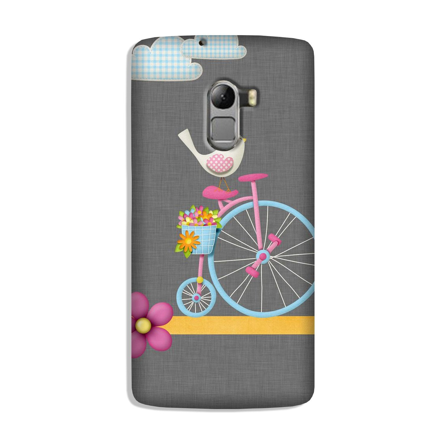 Sparron with cycle Case for Lenovo K4 Note
