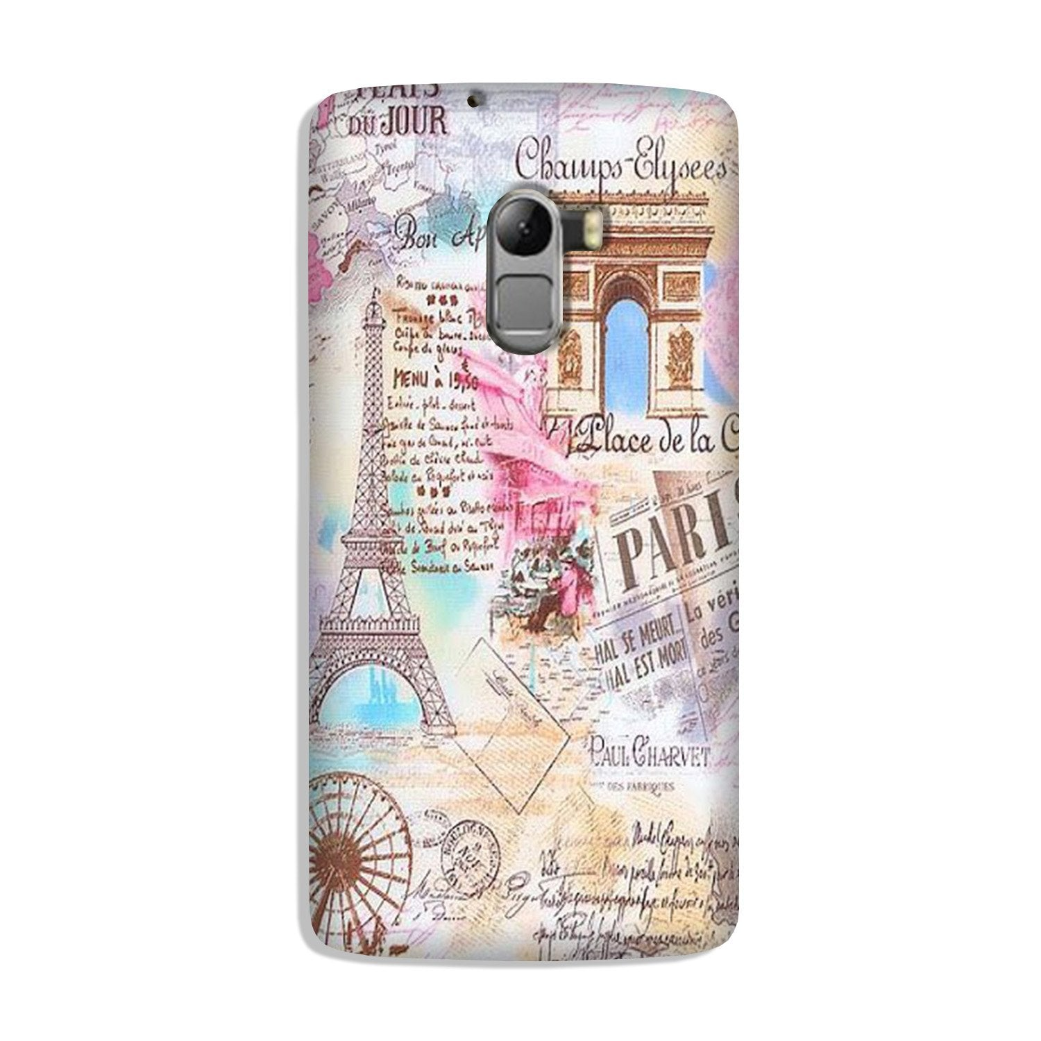 Paris Eiftel Tower Case for Lenovo K4 Note