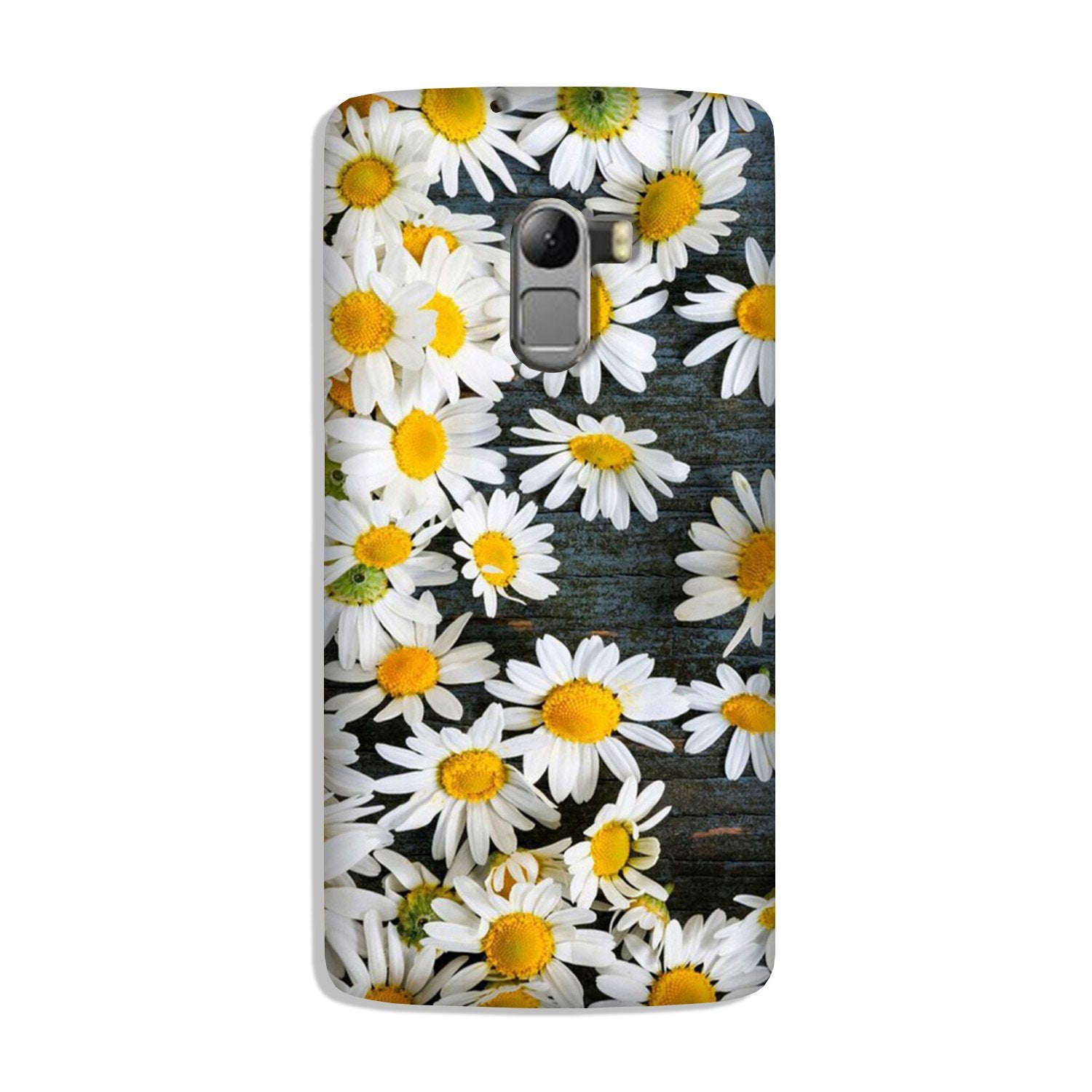 White flowers Case for Lenovo K4 Note