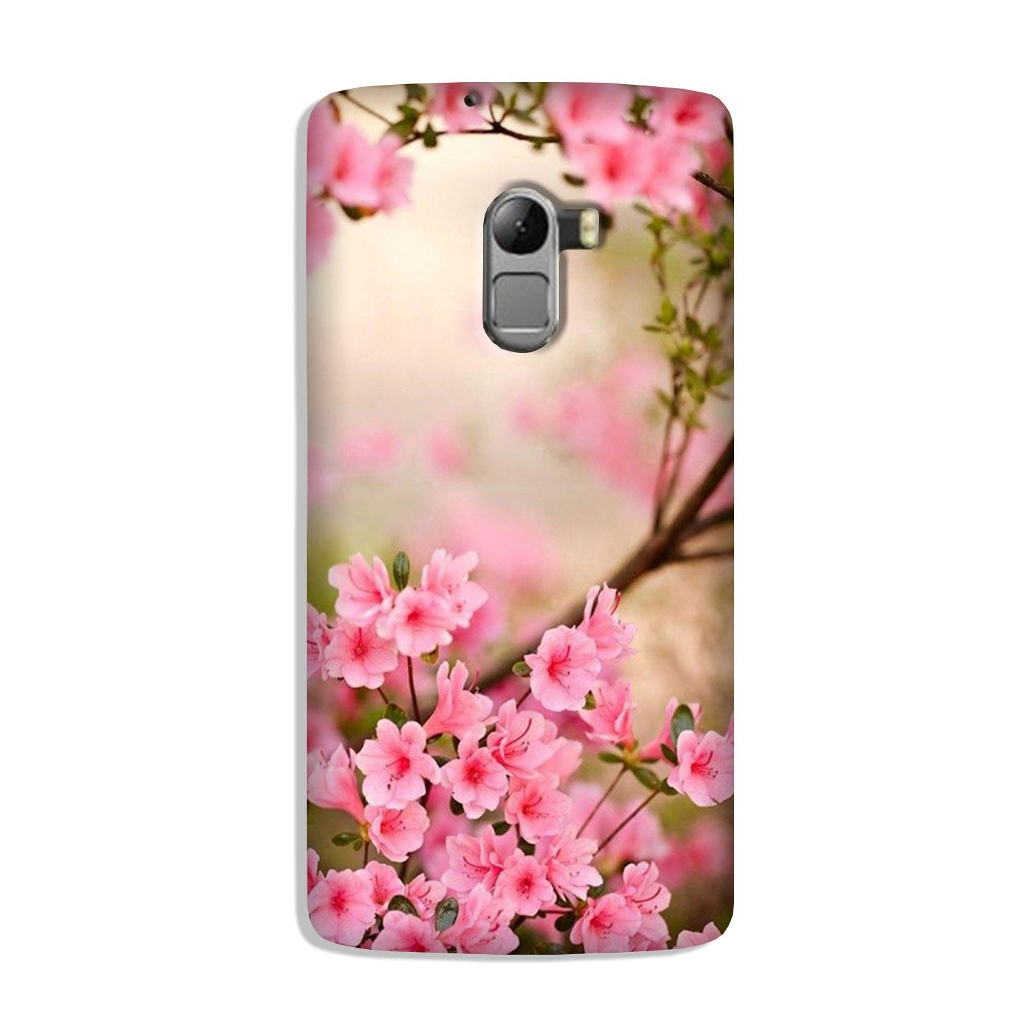 Pink flowers Case for Lenovo K4 Note