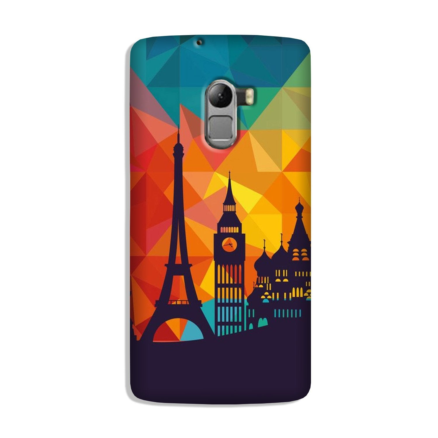 Eiffel Tower Case for Lenovo K4 Note