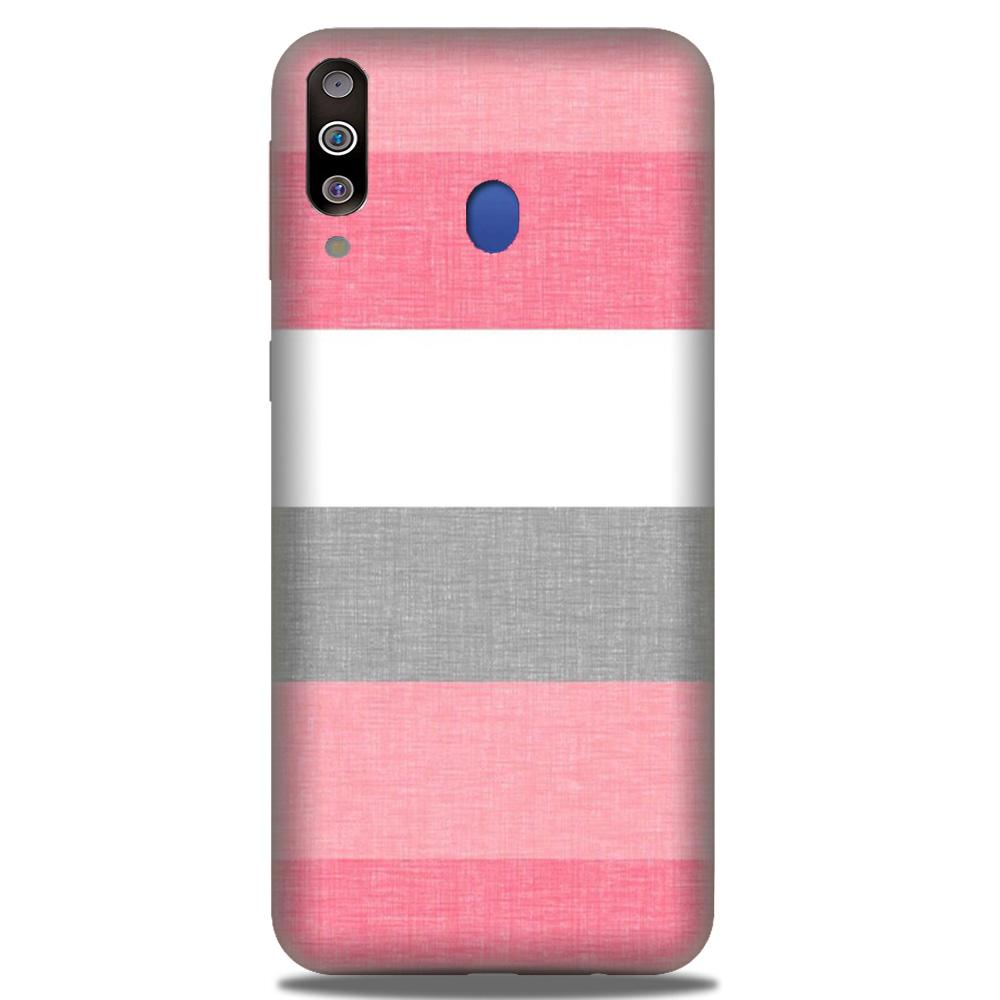 Pink white pattern Case for Samsung Galaxy M30