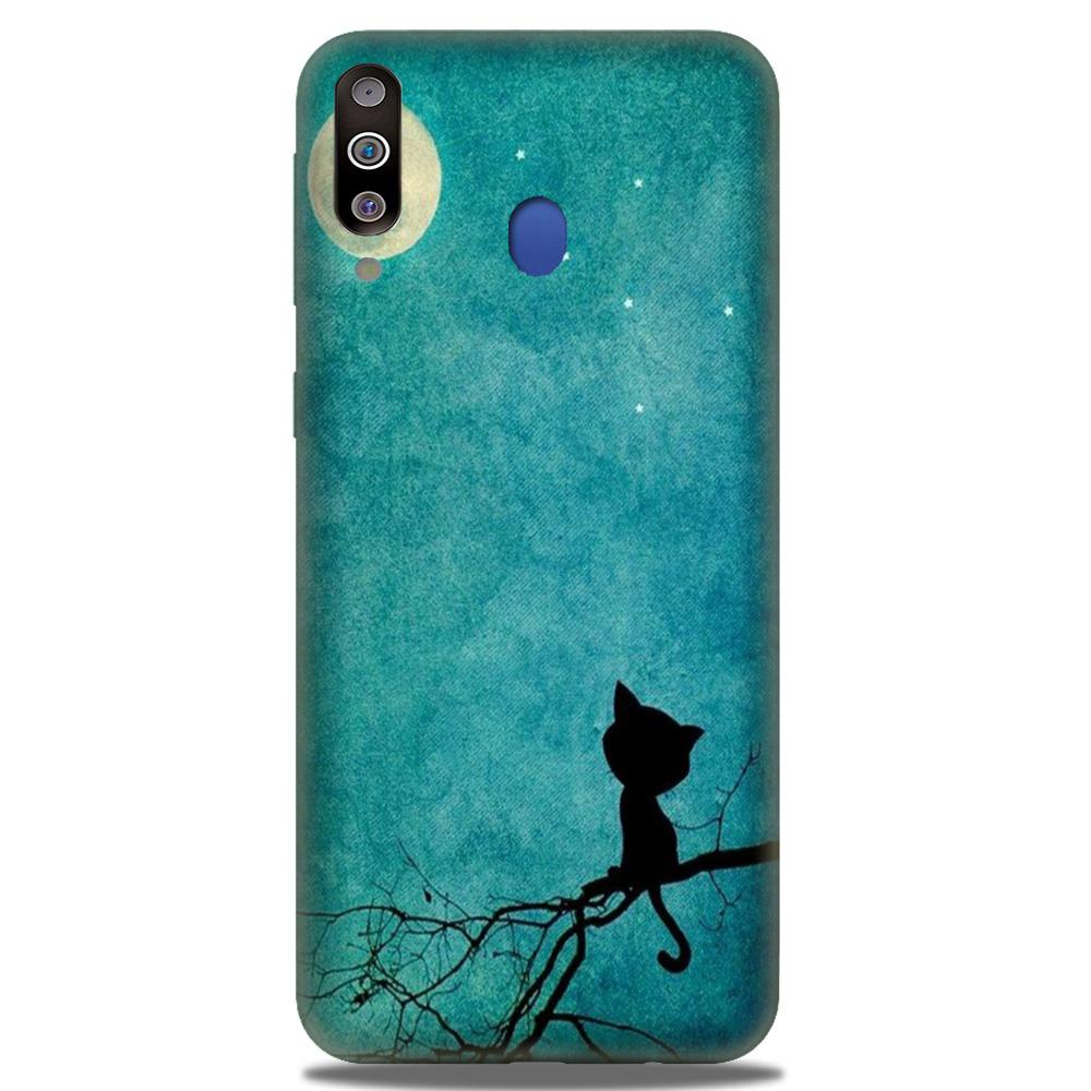 Moon cat Case for Samsung Galaxy M30