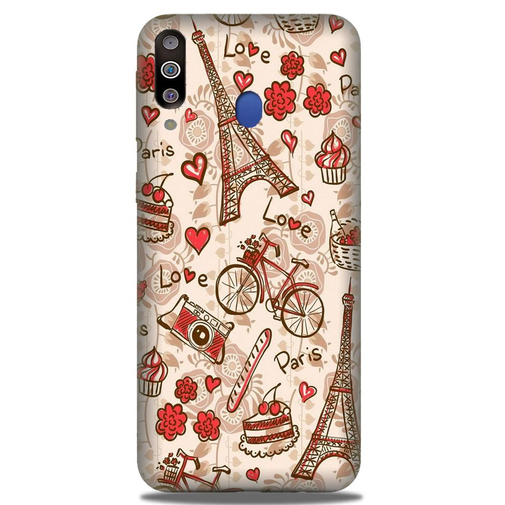 Love Paris Case for Samsung Galaxy M30  (Design - 103)