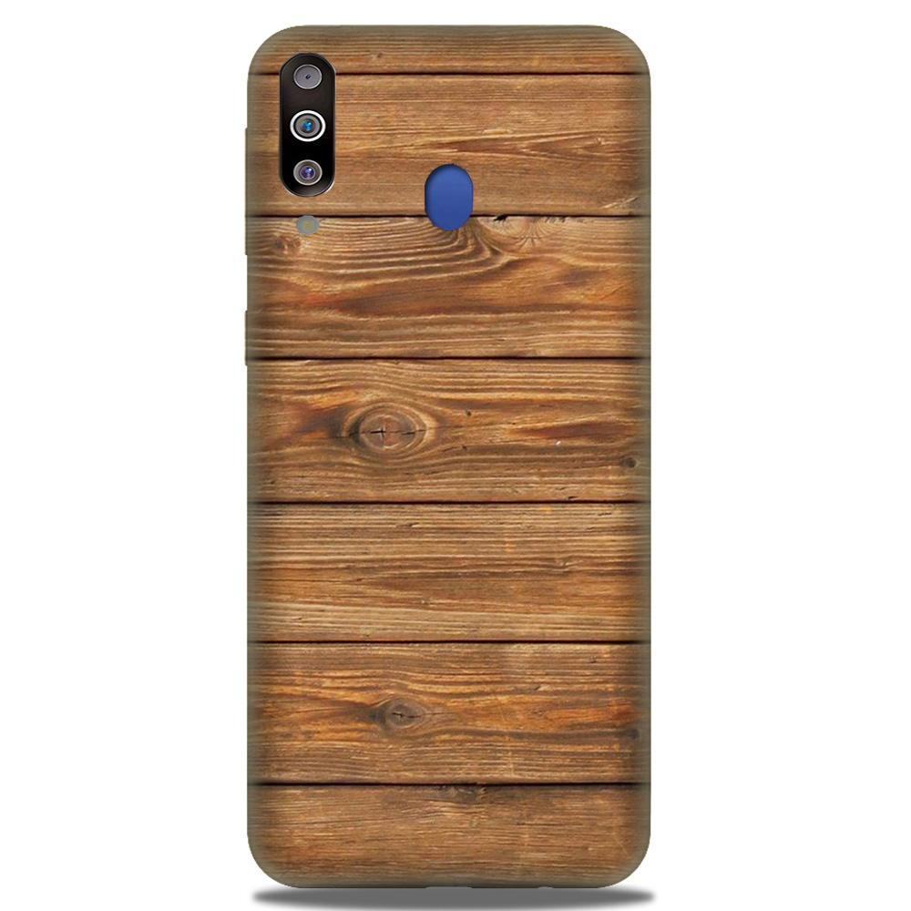 Wooden Look Case for Samsung Galaxy M30  (Design - 113)
