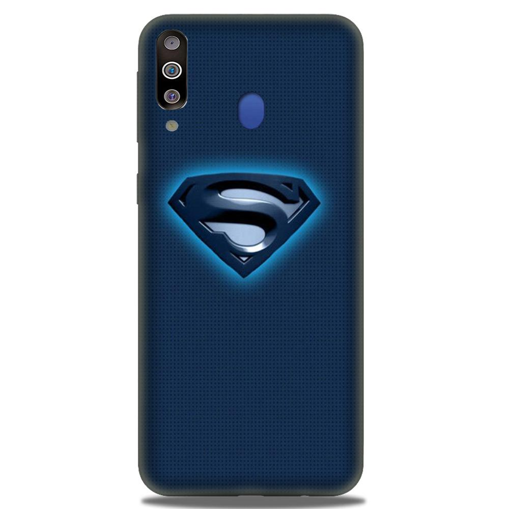 Superman Superhero Case for Samsung Galaxy M30  (Design - 117)