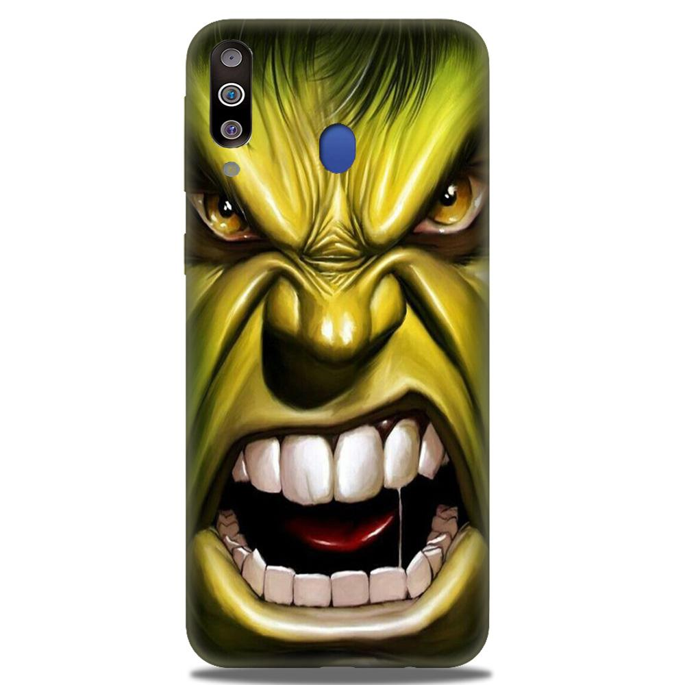 Hulk Superhero Case for Samsung Galaxy M30  (Design - 121)