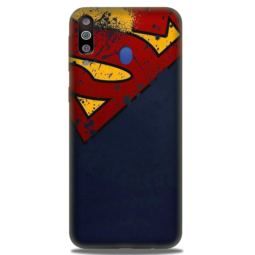 Superman Superhero Case for Samsung Galaxy M30  (Design - 125)