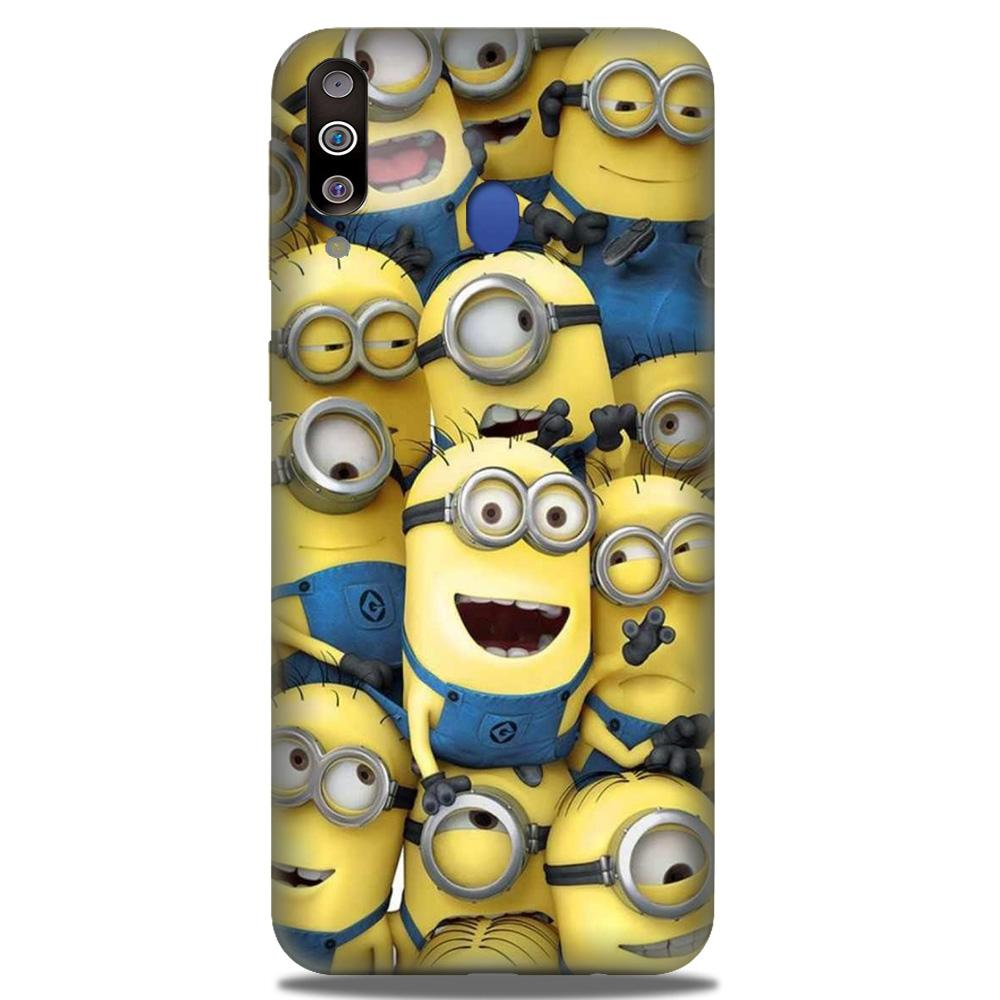 Minions Case for Samsung Galaxy M30  (Design - 127)