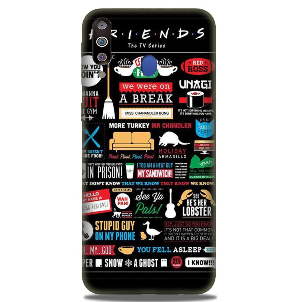 Friends Case for Samsung Galaxy M30  (Design - 145)