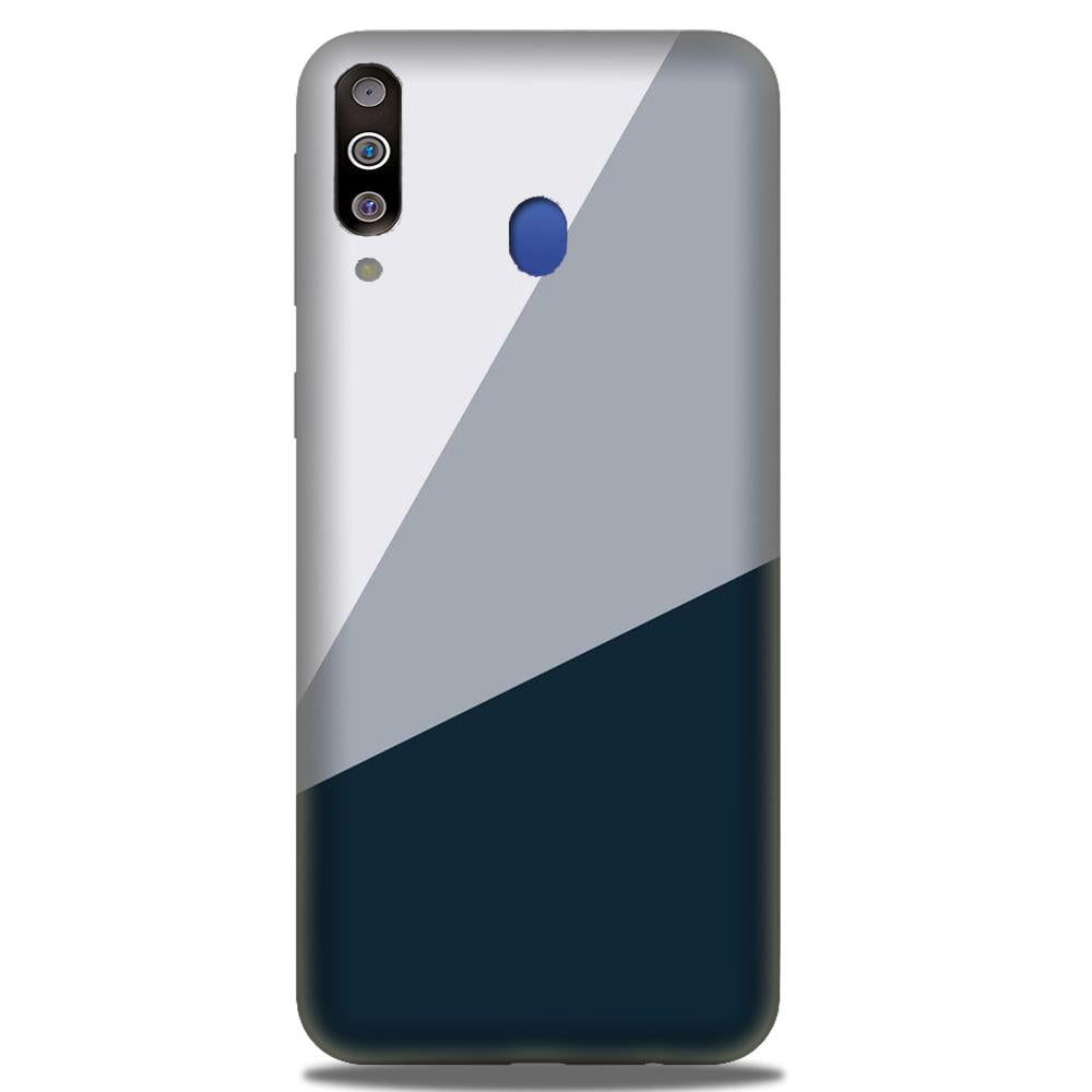 Blue Shade Case for Samsung Galaxy M30 (Design - 182)