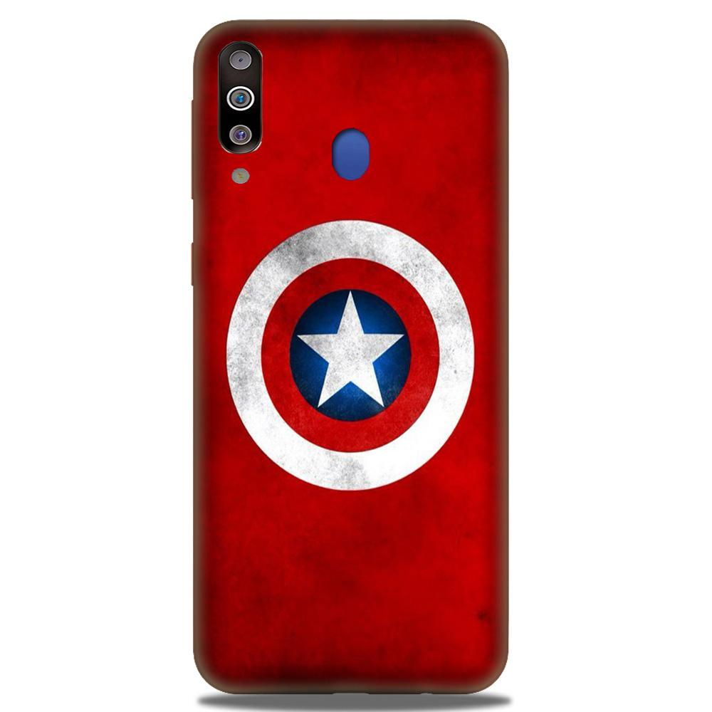 Captain America Case for Samsung Galaxy M30 (Design No. 249)
