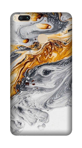 Marble Texture Mobile Back Case for Mi A1  (Design - 310)