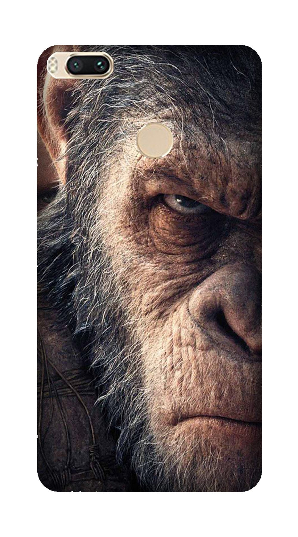 Angry Ape Mobile Back Case for Mi A1  (Design - 316)