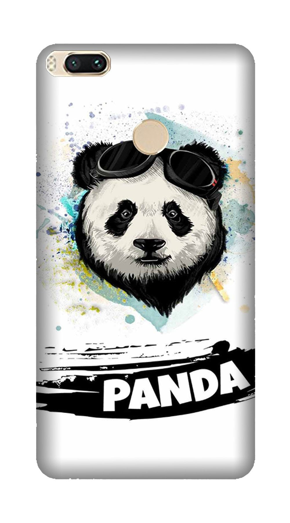 Panda Mobile Back Case for Mi A1  (Design - 319)