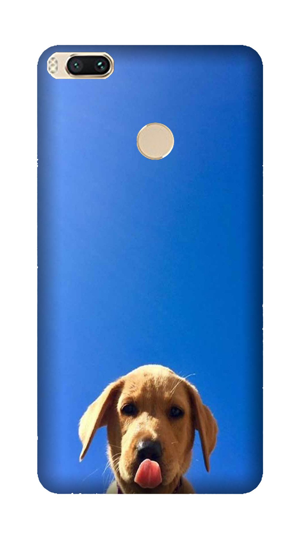 Dog Mobile Back Case for Mi A1  (Design - 332)