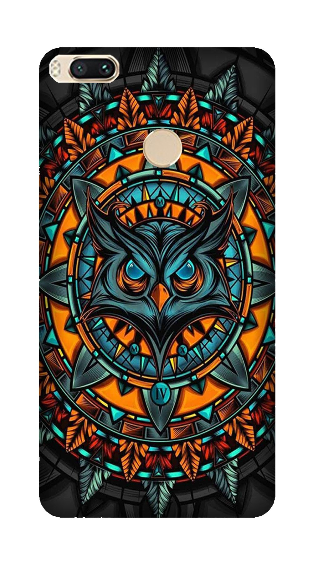Owl Mobile Back Case for Mi A1  (Design - 360)