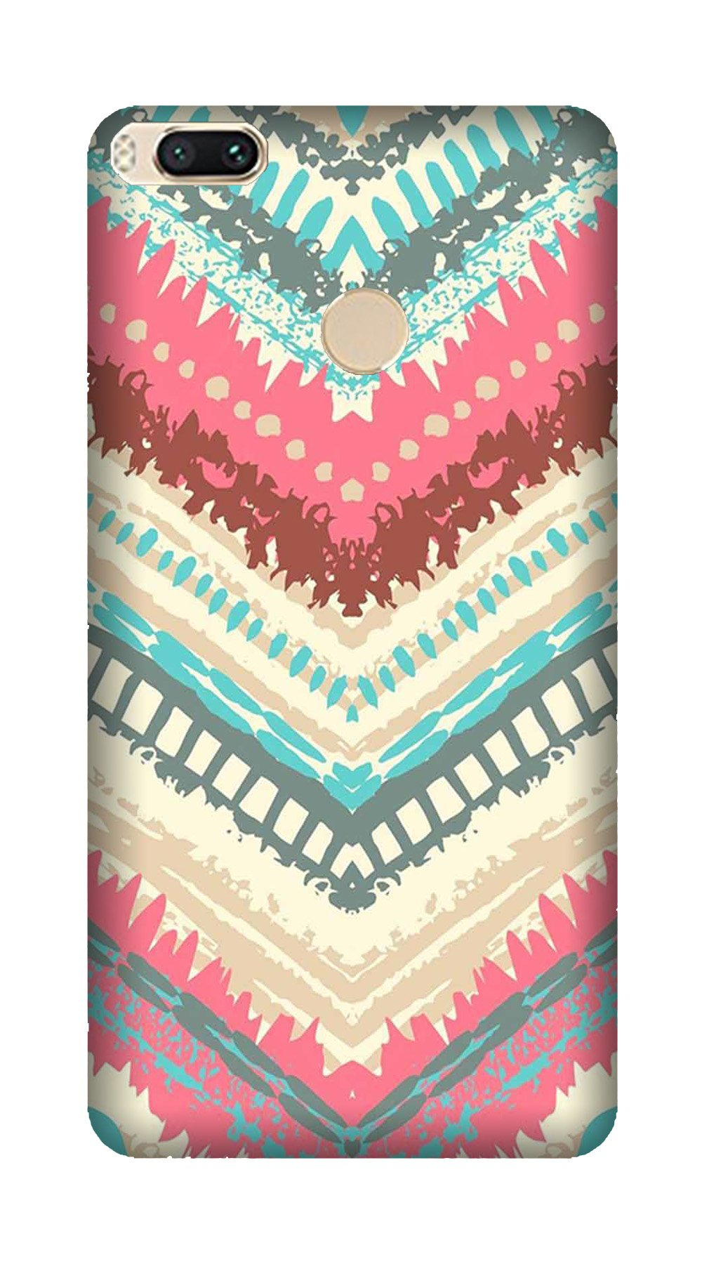 Pattern Mobile Back Case for Mi A1  (Design - 368)