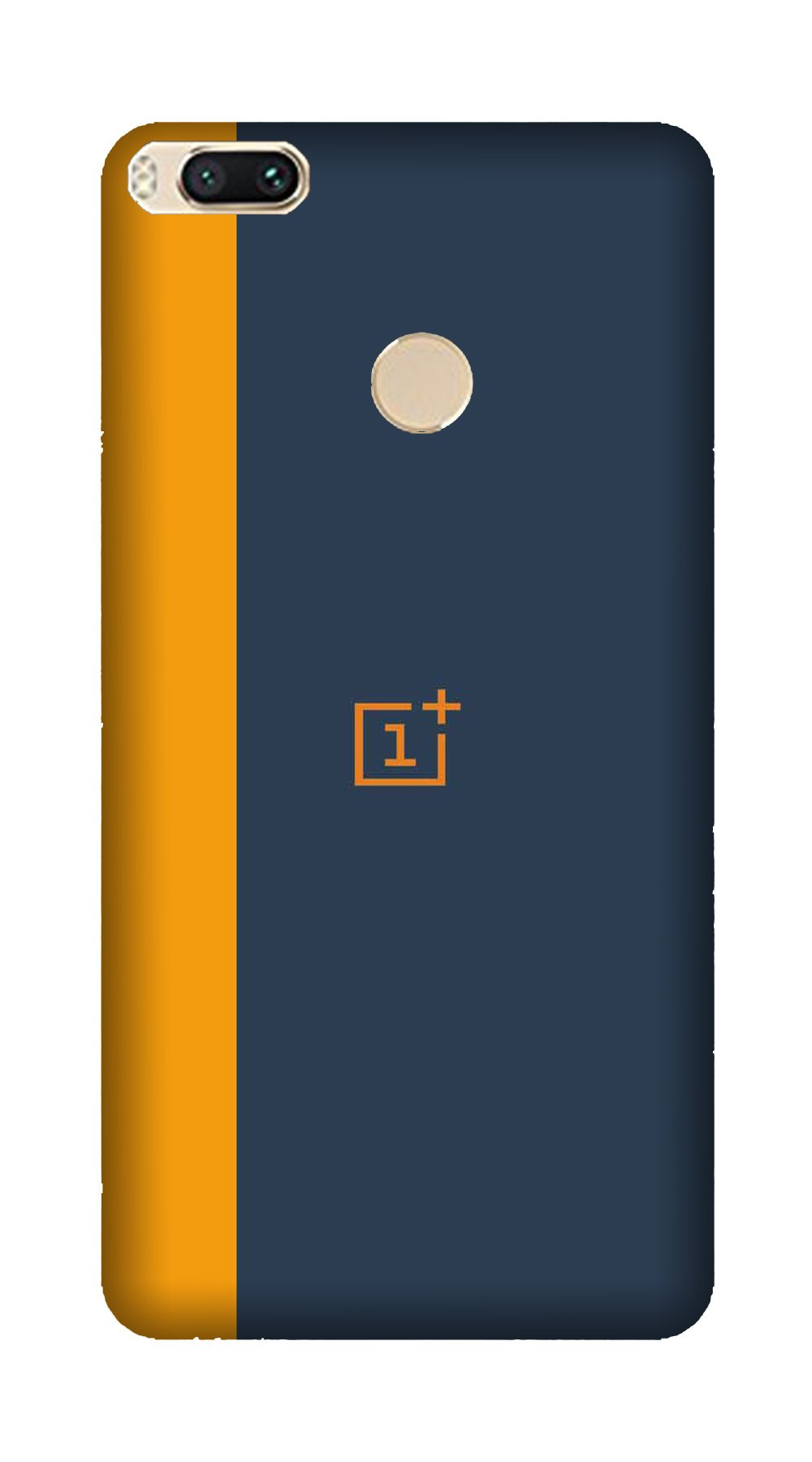 Oneplus Logo Mobile Back Case for Mi A1  (Design - 395)