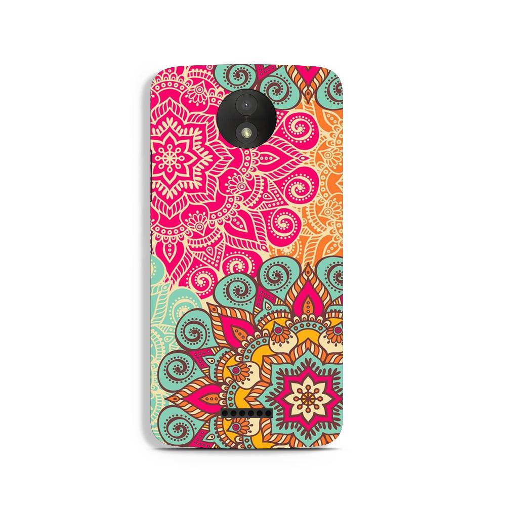 Rangoli art Case for Moto C