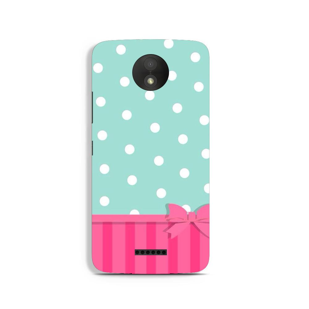 Gift Wrap Case for Moto C