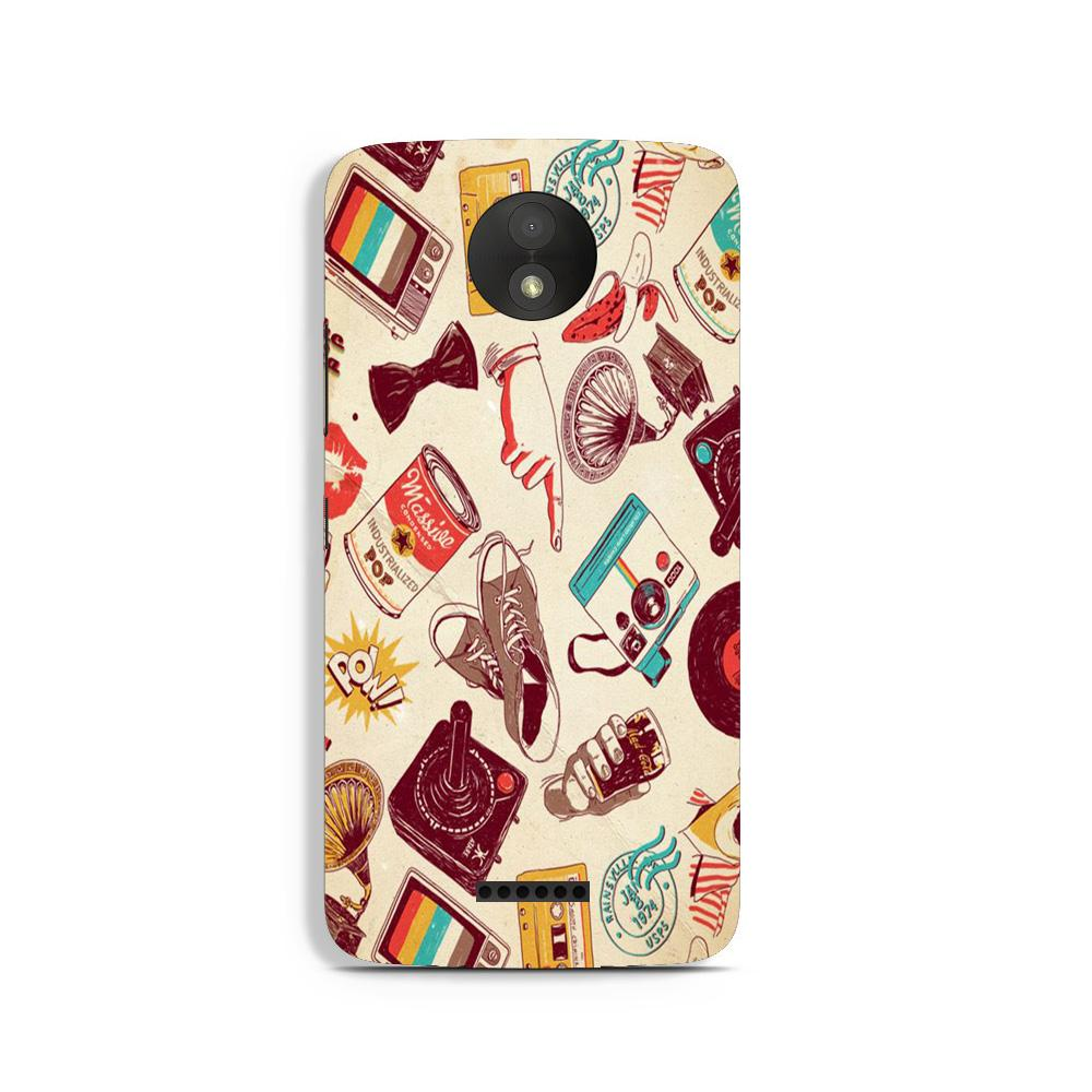 Vintage Case for Moto C