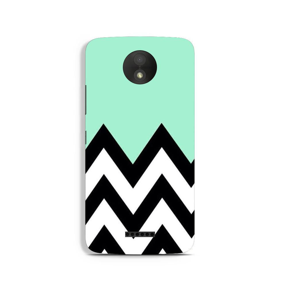 Pattern Case for Moto C