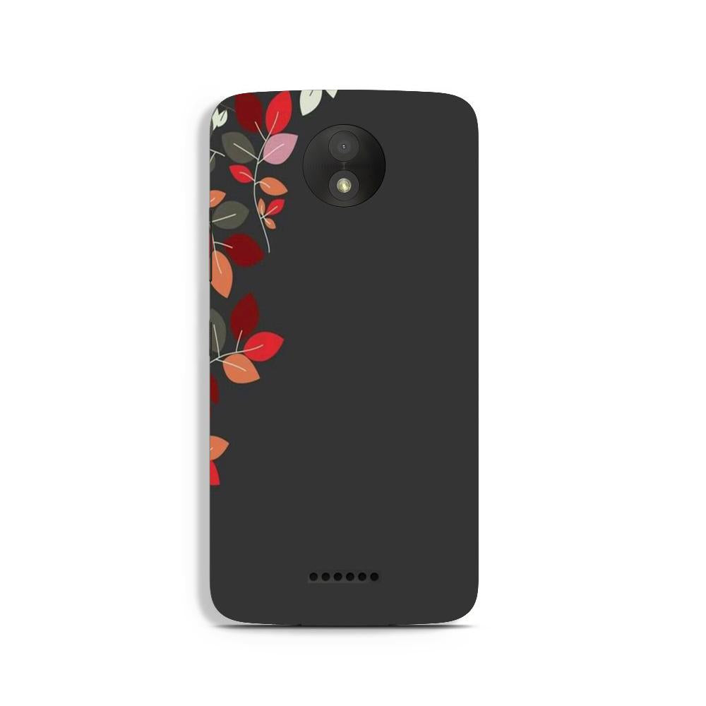 Grey Background Case for Moto C
