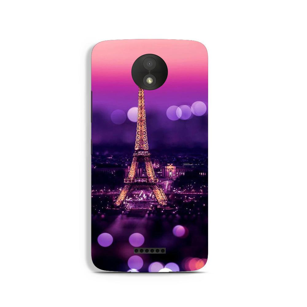 Eiffel Tower Case for Moto C