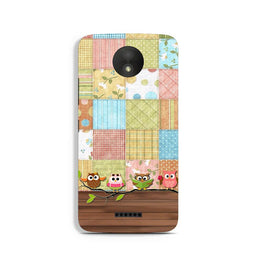 Owls Case for Moto C (Design - 202)