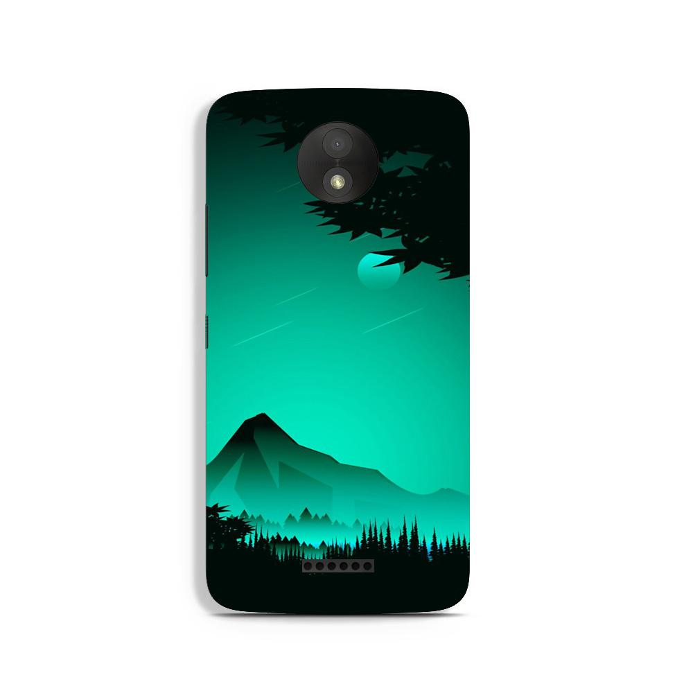 Moon Mountain Case for Moto C (Design - 204)