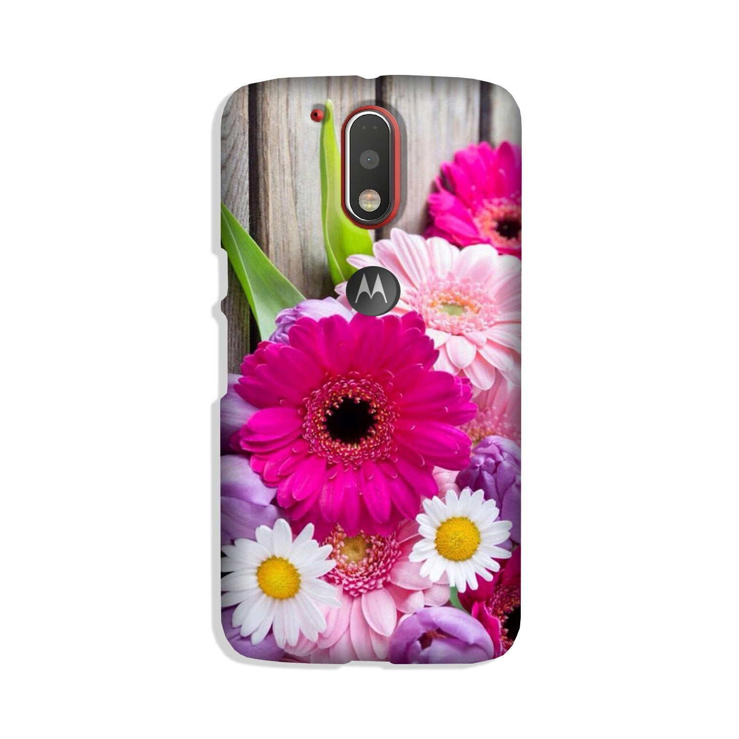 Coloful Daisy Case for Moto G4 Plus