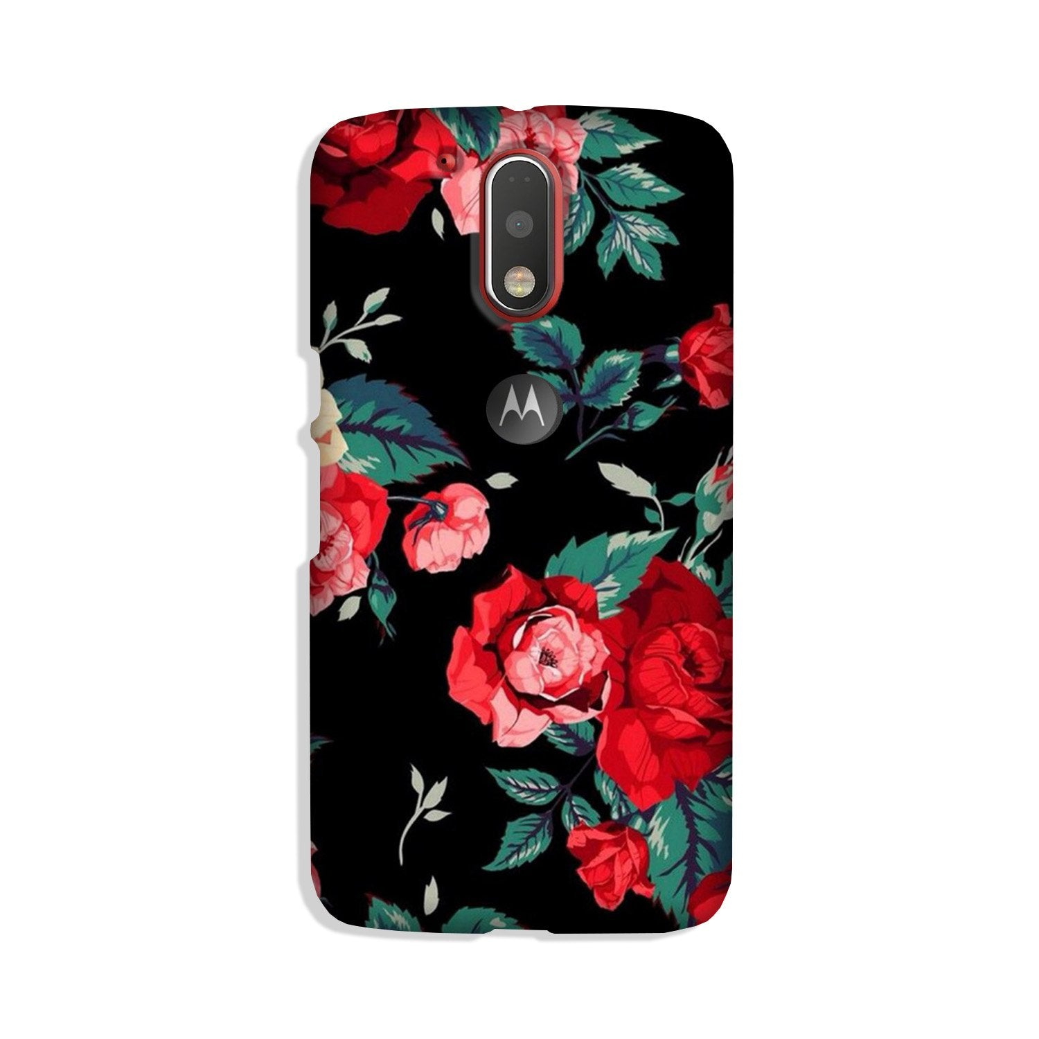 Red Rose Case for Moto G4 Plus