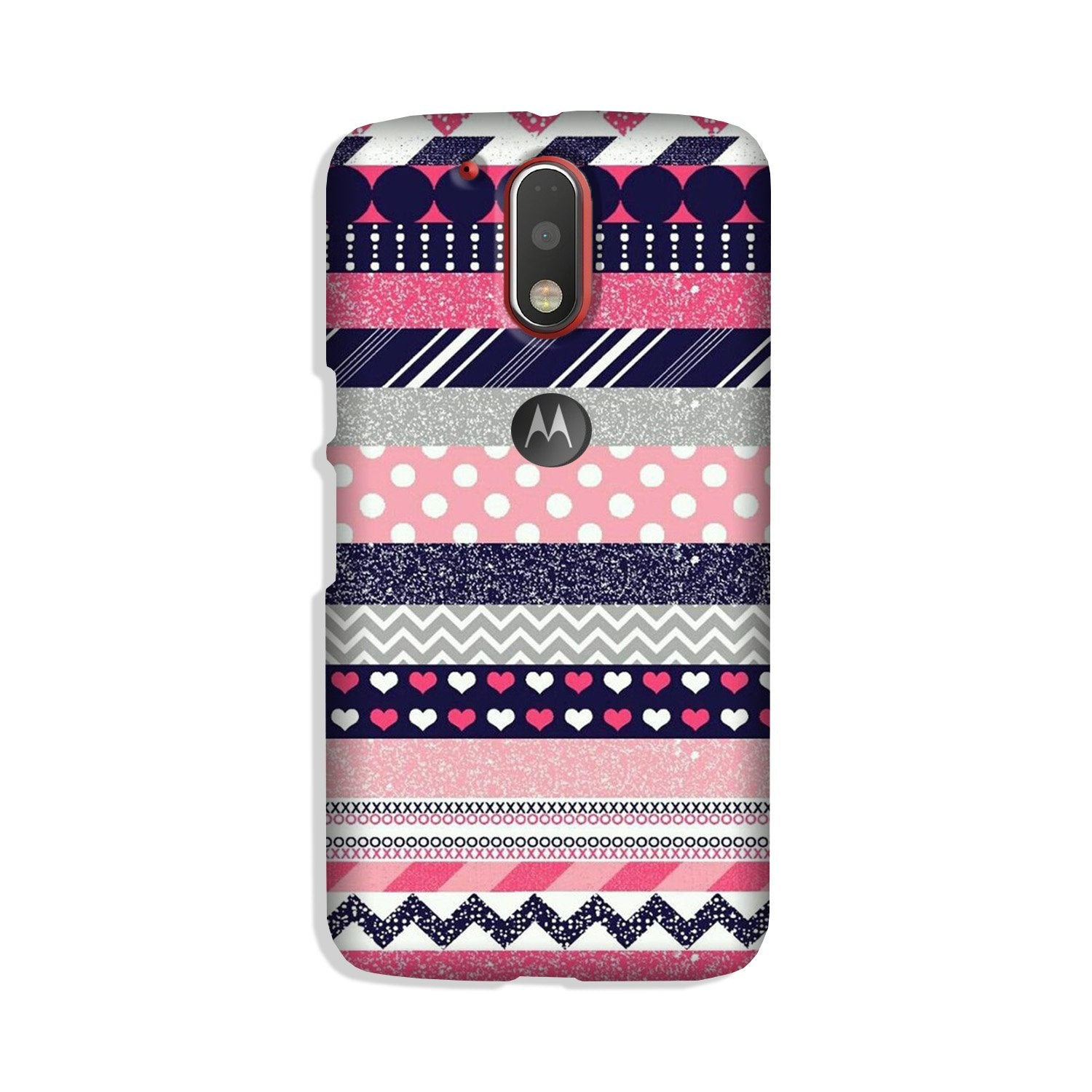 Pattern Case for Moto G4 Plus