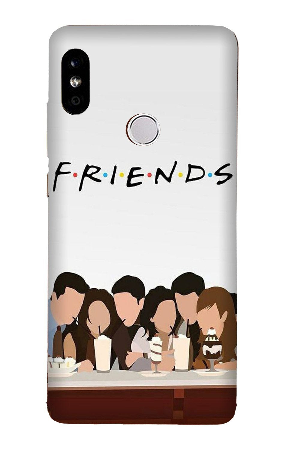 Friends Case for Xiaomi Redmi Y3 (Design - 200)
