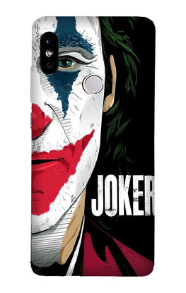 Joker Mobile Back Case for Redmi Note 6 Pro  (Design - 301)