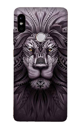 Lion Mobile Back Case for Redmi Note 6 Pro  (Design - 315)