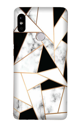 Marble Texture Mobile Back Case for Redmi Note 6 Pro  (Design - 322)
