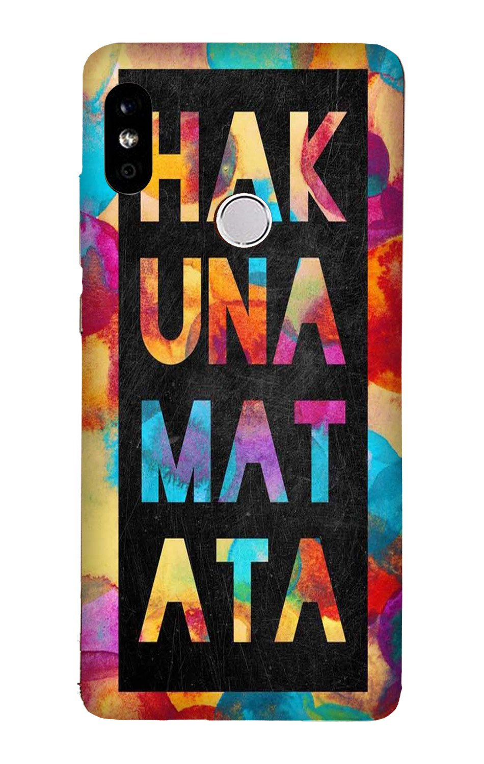 Hakuna Matata Mobile Back Case for Mi A2  (Design - 323)