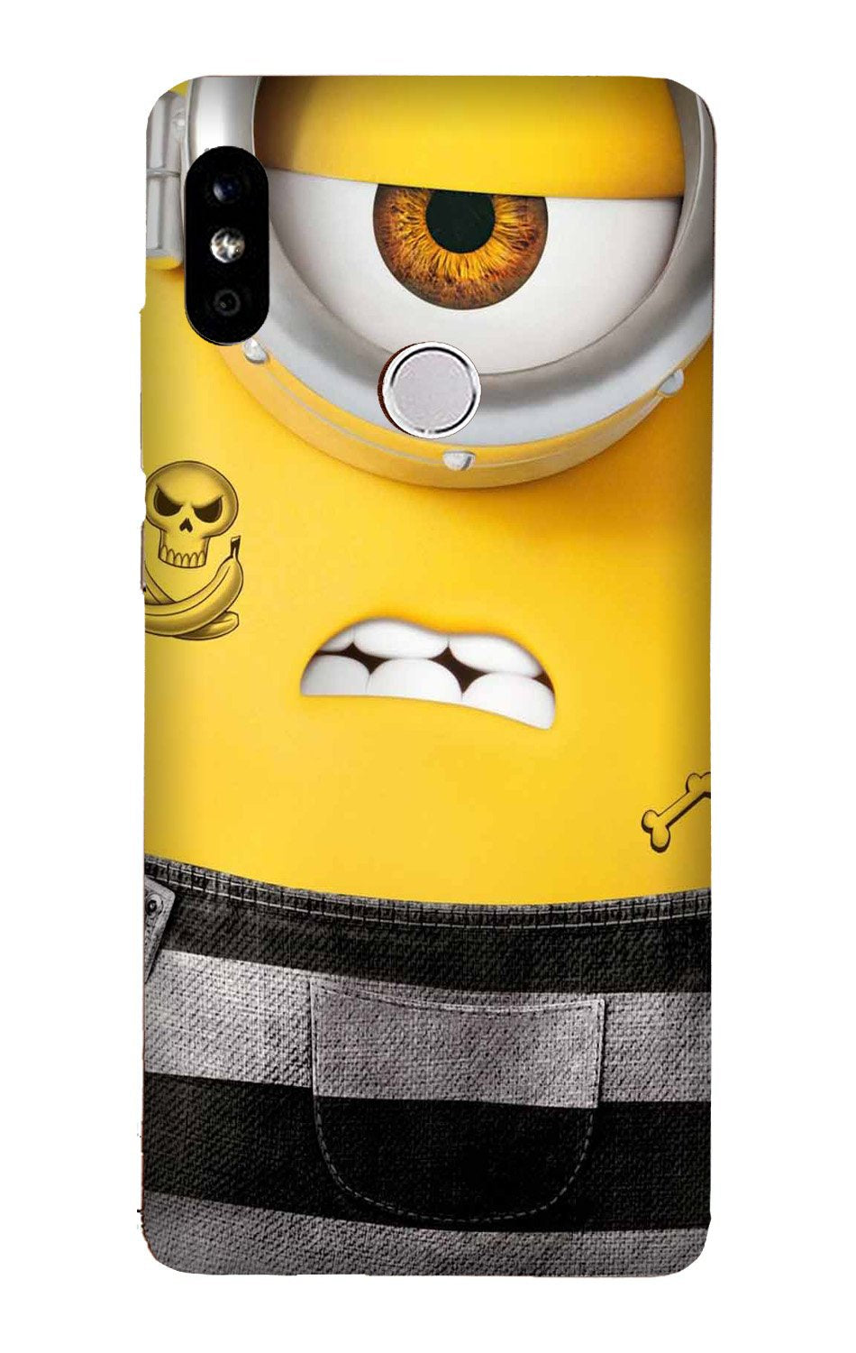 Minion Mobile Back Case for Mi A2  (Design - 324)