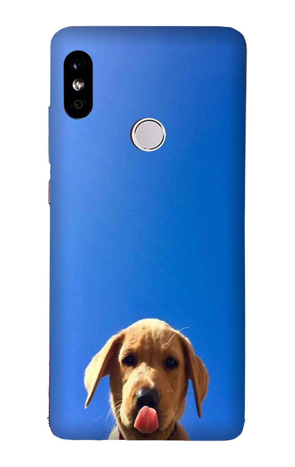 Dog Mobile Back Case for Mi A2  (Design - 332)