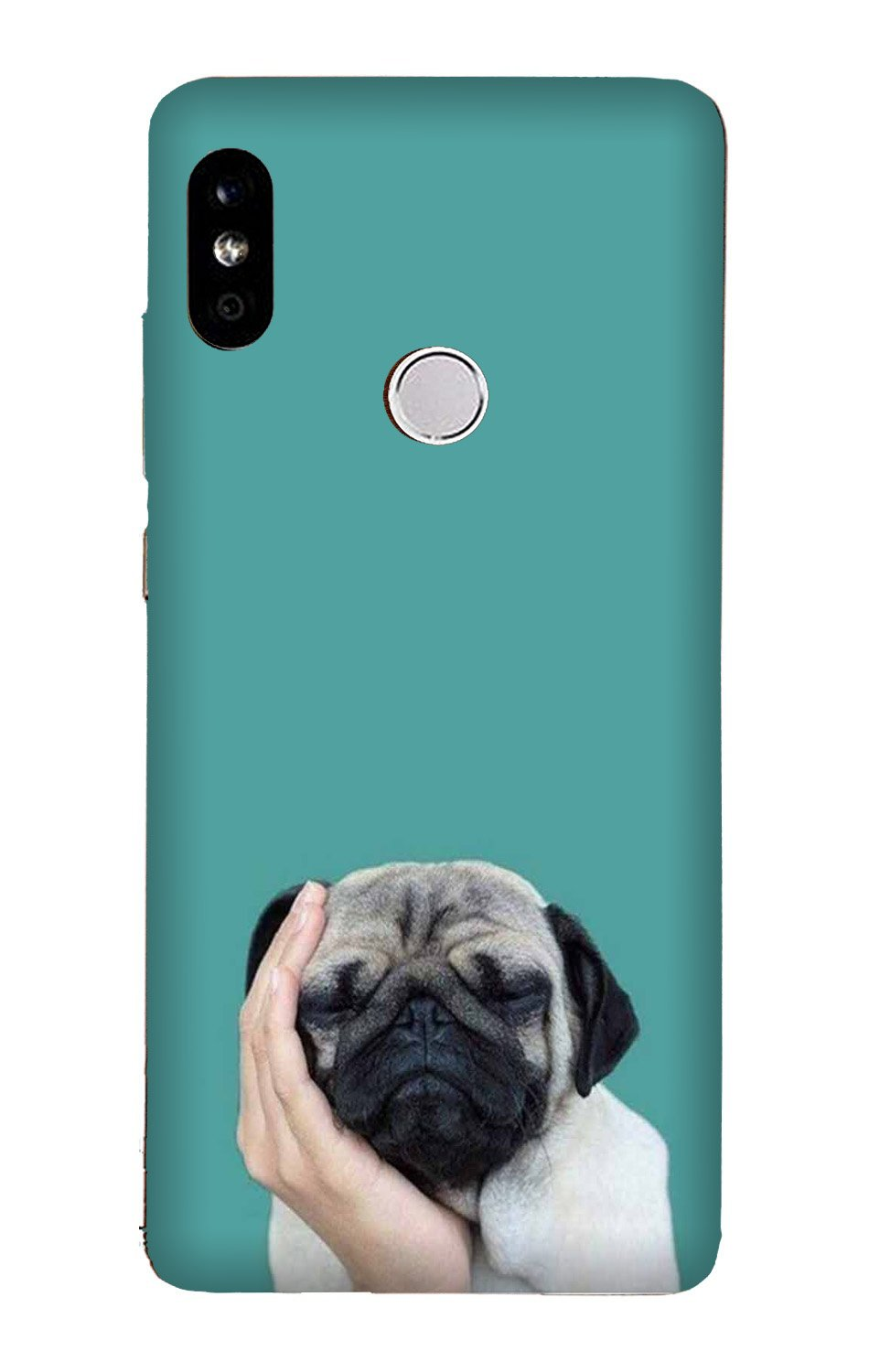 Puppy Mobile Back Case for Mi A2  (Design - 333)